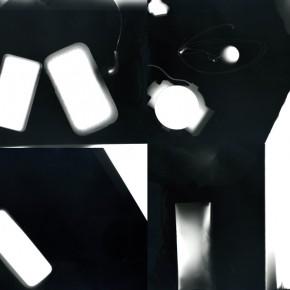 Collective Sleep, 2014, Collage of rayographs, Gelatine silver print, cm.24x30 (each)