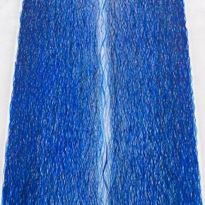 """""""Vibrazioni"""", acrilico su tela, 140x210 cm, 2014"""