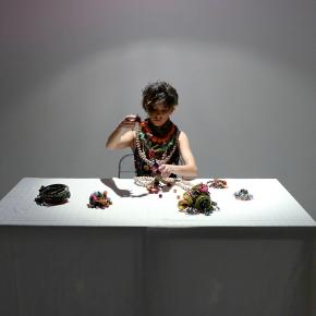Accessoriata, performance frame, 2015
