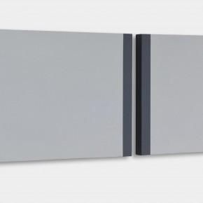 """""""Il tempo"""", 160x40x3 cm, acrilico su tela, 2013"""
