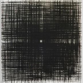 """""""L'infinito"""", tenica mista su tela, 130x130 cm, 2014"""