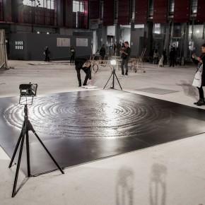 Anna Ippolito, Artsiom Parchynski, Marzio Zorio, 0000001, metallo, audio, 500x500 cm, 2015