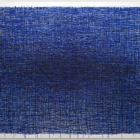 """""""L'infinito"""", acrilico su tela, 145x125 cm, 2014"""
