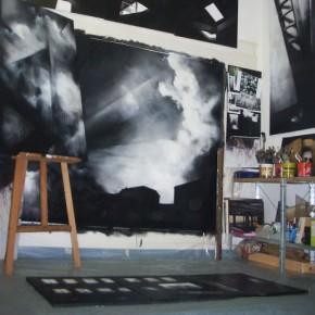 Incontro in studio con Erika Riehle, Stefano Simone e  Fabrizio Visione