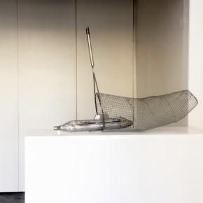 Utopia, acciaio, 70x120x40 cm, 2014
