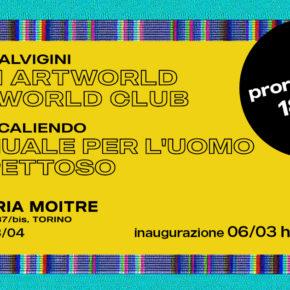 Bipersonale: Giulio Alvigini - Ilario Caliendo