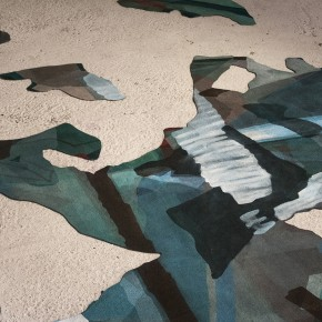 IMMAGINI COAGULATE_DEJAVU  2014, tecnica mista su Moquette cm 200 x 200, dettaglio